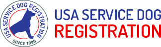 usa service dog registration logo