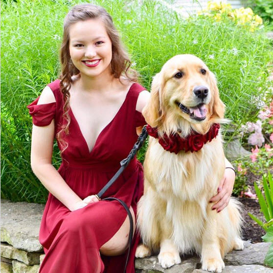 Service Dog Goes To Prom