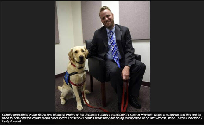 Prosecutor's Office Now Has a Service Dog