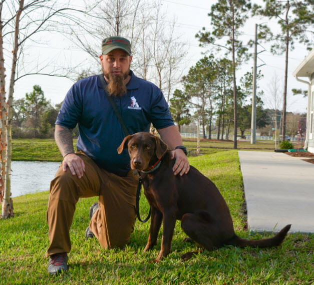 Service Dog Helps Vet Overcome PTSD