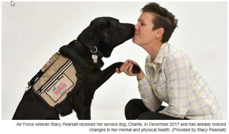 Science Confirms Value of Service Dogs for PTSD