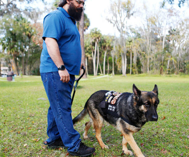 Veteran Wins Lawsuit Against Hillsborough County For Being Kicked Out of Park with His Service Dog